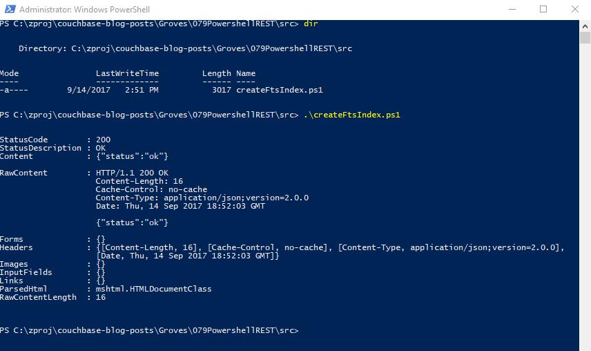 Execute PowerShell script