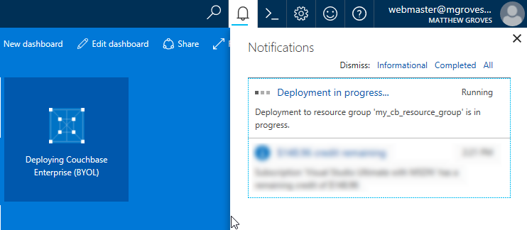 Azure provisioning VMs
